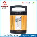 Neues bewegliches Solarradiolicht Produkt-hallo Energie MP3-/FM