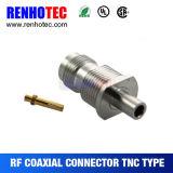 Connettore diritto maschio del cavo TNC dell'antenna di Rg58 Rg142 Rg141 LMR195