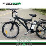 Bicicleta eléctrica con motor trasero sin escobillas