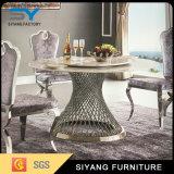 ホーム家具のステンレス鋼の円形のダイニングテーブル10 Seater