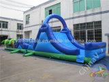 El campamento de carrera de obstáculos inflables para niños