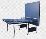 Nouveau modèle de table de tennis de table 15mm / 18mm avec roue de gros