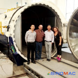 De elektrische het Verwarmen Autoclaaf van het Glas met Ingenieurs Beschikbaar aan de Dienst