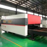 金属板(FLX3015-3000W)のための3000W CNCのファイバーレーザーの打抜き機