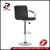 PU Leather Hydraulic Lift ajustável Counter Bar Stool