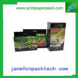 Коробка упаковки активированного угля изготовленный на заказ чая упаковывая
