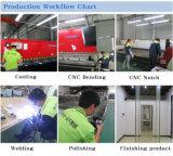 Fabrik Manufactre Edelstahl-rote Bronzetee-Tisch-Ausgangsmöbel