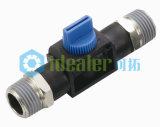 Ajustage de précision en laiton pneumatique de soupape de main avec Ce/RoHS/ISO9001 (HVM03-03)