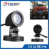 オートバイのトラックのためのLEDのドライビング・ライト10W LED作業ランプライト