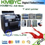 Machine d'impression de T-shirt de DTG de lit plat de Digitals de couleurs de la taille 6 de la qualité A3 bon marché