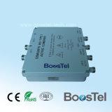 Refuerzo de doble canal de 900MHz GSM y UMTS 900 MHz de doble banda, amplificador de la parte superior de la torre