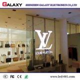 P3.75/P5/P7.5/P10 a todo color transparente/vidrio/pantalla de visualización video de la ventana/de la cortina LED/muestra/pared para hacer publicidad