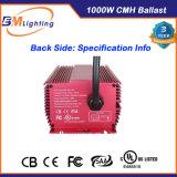 1000W hidrop ico 860W 600W Escurecendo Mh/HPS balastro electrónico para as emissões