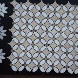 Die luxuriöse Entwurfs-Marmor-Mosaik-Küche Backsplash Fliese