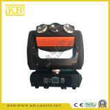 9PCS 15W RGBW 4in1 LED 광속 이동하는 맨 위 빛