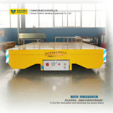 Ferrocarril Eléctrico de la manipulación de la batería del vehículo transportador de alimentación para cargas pesadas