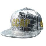 さまざまなカラー6パネルPUの平らな縁の急な回復の帽子