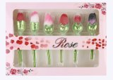 2017 нов конструирует щетку косметик цветка Rose щетки состава для состава внимательности кожи