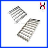 Filtre magnétique avec 8 barres magnétiques Double plate-forme