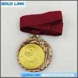 Il metallo perfezionamento le medaglie dell'offensiva terrestre dei mestieri di abitudine della medaglia di sport