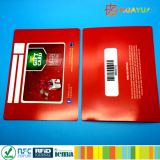 Impressão personalizada Cartão VIP de PVC com leitor de cartão