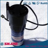 Serie delle speci con il condensatore del motore della pompa del nero del termistore del ptc