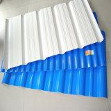 頑丈で物質的な中国の製造者カラー上塗を施してある波形のプラスチック屋根ふきシート