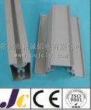6061t5 aluminium anodisé noir, profil en aluminium d'extrusion (JC-W-10046)