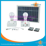 Con Control remoto y cargador de teléfono móvil 3W Lámpara Solar