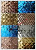 Personnalisé 4x8 feuilles décoratives en acier inoxydable de couleur pour Panneau mural