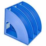 Modernes buntes dreifaches Datei-Plastiktellersegment für Büro-Gebrauch C2113