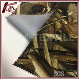 Ткань трика печати картины листьев осени Bonded