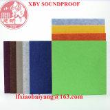 Painel acústico Soundproof de fibra de poliéster para a folha da placa de painel da decoração do material de construção
