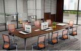 2개의 문 여닫이 문 내각에 의하여 붙어 있는 금속 사무실 테이블 (HX-NCD007)