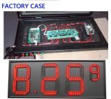 "Exterior 12 ""Red Color, Regular LED Gas Price Sign \ Regular Gas Station Screen \ LED Sign Board, 7 Segmento dos Módulos"