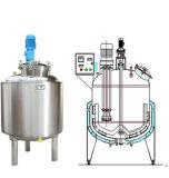 Mélangeur à grande vitesse sanitaire d'émulsion des prix de réservoir d'émulsion