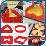 4pcs moule à cake en silicone Magic cuire les serpents
