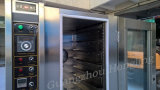 Comercial de gas de acero inoxidable para la cocción del horno de convección con 10 bandejas