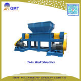 Plástico que recicl o estágio de PP/PE dois que esmaga a máquina de granulagem da extrusão