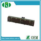 30mm de longueur de déplacement DC 12V 10k avec 6 broches du potentiomètre de la diapositive