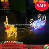 Belüftung-gelbes Bereich-Motiv-Seil-Weihnachtslicht LED-2.5m für im Freiendekoration