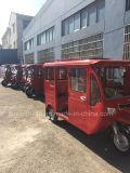 乗客のための3つの車輪の三輪車のタクシーBajaj Tuktuk