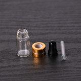 Frasco de petróleo essencial de vidro ambarino de vidro vazio do frasco 30ml do conta-gotas da parte alta