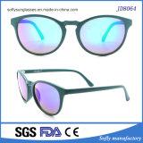 Forma redonda de óculos de sol para mulheres e homens no Verão