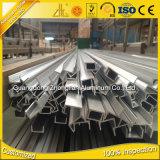 Profil en aluminium de 6000 extrusions anodisé par série C