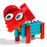 14885507-4 dans 1 Animal bloc modifié kit DIY Creative jouet éducatif Jeu de blocs 37pcs (Octopus--- de la souris de l'escargot de moutons)