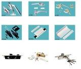 7整形Windowsおよびドアハンドル、亜鉛合金またはステンレス鋼またはプラスチックの全販売