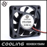 refrigerador 12V axial refrigerando sem escova pequeno do ventilador 5V da C.C. de 60mm 60X60X15 6015 12V 24V mini (CLD6015S (B) 12H)