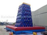 Haltbares sicheres großes Kurbelgehäuse-Belüftung scherzt im Freien kletternde Wand, aufblasbare kletternde Wand für Sport-Spiele