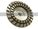알루미늄 지하실을%s 가진 터보 유형 두 배 줄 컵 바퀴